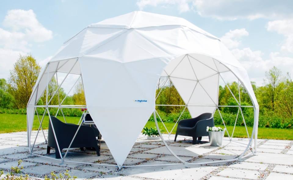 Namioty sferyczne, a klucz nasadowy